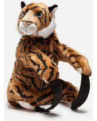 Dolce & Gabbana - Rucksack Aus Tiger-Webpelz - Lyst
