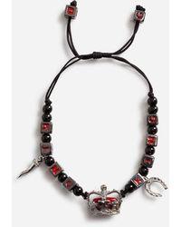Dolce & Gabbana - Armband Mit Anhängern - Lyst