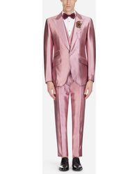 Dolce & Gabbana - Sicilia Suit In Mikado Silkâ - Lyst
