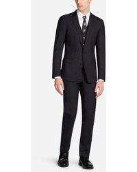 Dolce & Gabbana - Stretch Wool Dress - Lyst