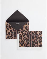 Dolce & Gabbana Ten Card Set With Printed Paper Envelopes