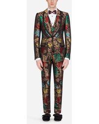 Dolce & Gabbana - Floral Jacquard Casinò-fit Suit - Lyst