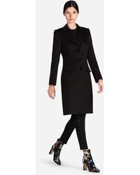Dolce & Gabbana - Single-breasted Cashmere Coat - Lyst