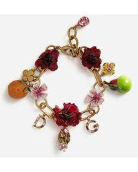 Dolce & Gabbana - Bracelet With Decorative Accents - Lyst