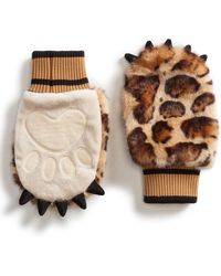 Dolce & Gabbana Faux Fur Gloves