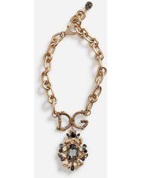 Dolce & Gabbana - Collana Con Elementi Decorativi - Lyst