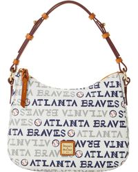 456dfc1c87 Dooney & Bourke Mlb Reds Small Kiley Hobo - Lyst
