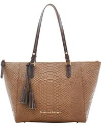 Dooney & Bourke - Caldwell Large Maxine Tote - Lyst
