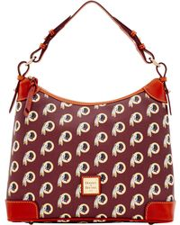 1b9534e103 Lyst - She + Lo  next Chapter  Studded Hobo Bag in Blue