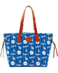 Dooney & Bourke - Mlb Dodgers Shopper - Lyst