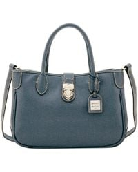 Dooney & Bourke - Saffiano Small Double Handle Tote - Lyst