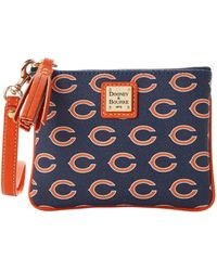 Dooney & Bourke - Nfl Bears Stadium Wristlet - Lyst