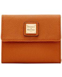 Dooney & Bourke - Belvedere Small Flap Wallet - Lyst