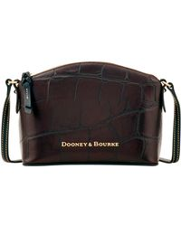 49fd8c1216 Lyst - Dooney   Bourke Varsity Ruby Bag in Black