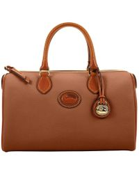 Dooney & Bourke - All Weather Leather 2 Classic Satchel - Lyst