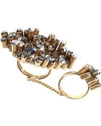 Dorothee Schumacher - Crystal Edge Double Ring - Lyst