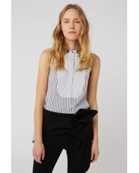Dorothee Schumacher - Sparks On Stripes Blouse Sl .less - Lyst