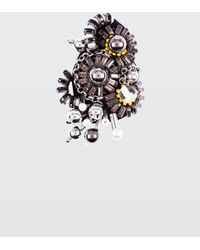 Dorothee Schumacher - Rock Glam Hand Embroidered Brooch On Felt - Lyst