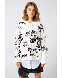Dorothee Schumacher - Graphic Bloom Sweatshirt 1/1 - Lyst