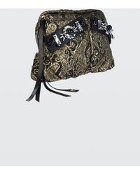 Dorothee Schumacher - Bold Statements Embroidered Jacquard Clutch Bag - Lyst