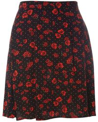 Dorothy Perkins - Tall Poppy Mini Skirt - Lyst