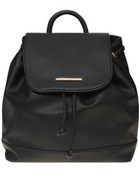 Dorothy Perkins - Black Drawstring Backpack - Lyst