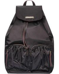 Dorothy Perkins - Black Nylon Pocket Backpack - Lyst