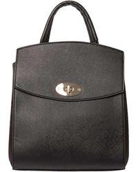 Dorothy Perkins - Black Structured Backpack - Lyst