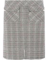 Dorothy Perkins - Multi Coloured Check Jacquard Mini Skirt - Lyst