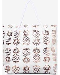 Dorothy Perkins | Metallic Pineapple Shopper Bag | Lyst