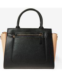 Dorothy Perkins - Black Winged Workwear Tote Bag - Lyst