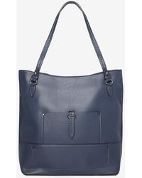 Dorothy Perkins - Navy Hardware Detail Shopper Bag - Lyst