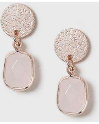 Dorothy Perkins - Semi Precious Earrings - Lyst