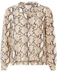 Dorothy Perkins - Multicoloured Snake Print Pyjama Style Shirt - Lyst