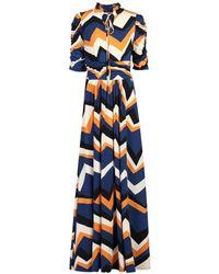 Jolie Moi - Multi Coloured Pattern Maxi Dress - Lyst