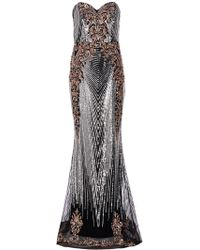 Dorothy Perkins - Quiz Multi Coloued Olivia's Embellished Maxi Dress - Lyst
