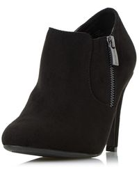 Dorothy Perkins - Head Over Heels By Dune Black 'olisa' Ankle Boots - Lyst