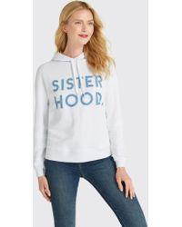 Draper James - Sisterhood Hoodie - Lyst