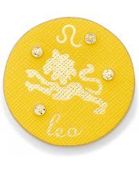 Draper James - Zodiac Leather Pin - Lyst