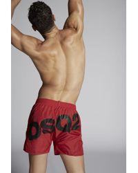 DSquared² - Dsq2 Swim Shorts - Lyst