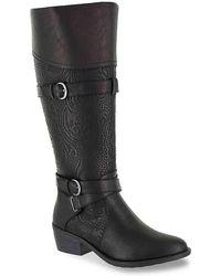 Easy Street - Kelsa Wide Calf Riding Boot - Lyst
