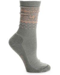 Woolrich - Snow Flake Border Sock - Lyst