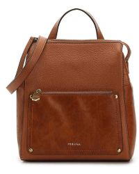 Perlina | Judi Leather Convertible Backpack | Lyst