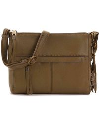 The Sak - Alameda Leather Crossbody Bag - Lyst 7d413ac80d5ce