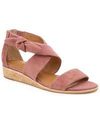 2c95f035760 Lyst - Corso Como Gladis Espadrille Wedge Sandals in Brown
