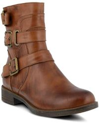 Spring Step - Diony Motorcycle Bootie - Lyst