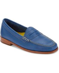 G.H.BASS - Whitney Weejuns Leather Penny Loafer - Lyst