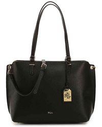 Lauren by Ralph Lauren - Anfield Ii Shopper Shoulder Bag - Lyst