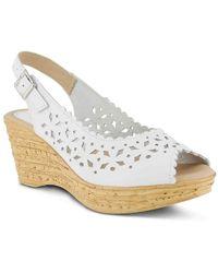 Spring Step - Chaya Wedge Sandal - Lyst
