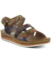 Spring Step - Step Suzanne Wedge Sandal - Lyst